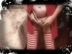 transvestite schoolgirl sounding urethral ladyboy lingerie 97