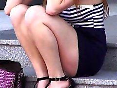 Teenager sexy Farrah Fiore prese ed scopato duro pubbliche