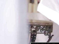 TEENFIDELITY - Backdoor Ballerina Melody Jordan Spreads For Creampie
