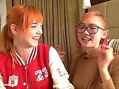 18 anni redhead Anny Aurora e asiatiche