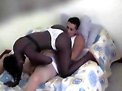 Black Girl Sucking White Cock On Her Knees
