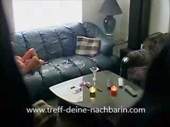 German Milf Nachbarin gefickt und heimlich gefilmt