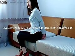 Chinese girl bondage tied up and gagged with stockings 2
