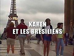 Karen Lancaume - anali à la BRESILIENNE