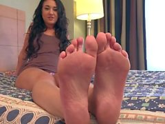 Kylie Kalvetti Has Feet And Pussy Fucked And Gets A Hot Cumshot