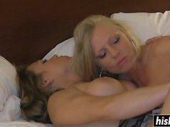 Two babes like to masturbate together