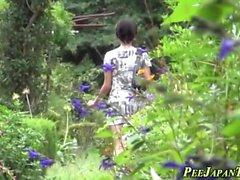 Japanska slampa Pissing