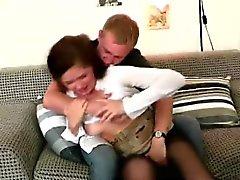 MILF приятное грубая секс рвать ее киску