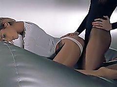 donne in collant cazzo di con cinturino di