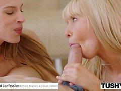 TUSHY Incredible Anal Threesome Sammanställning