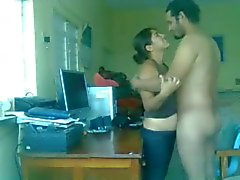 Pakistani Couple Hardcore Sex On A Table