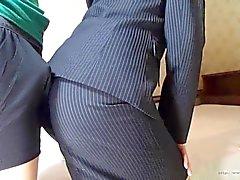 nonnude Pehmoporno aasialainen toimiston nainen assjob ClipArt