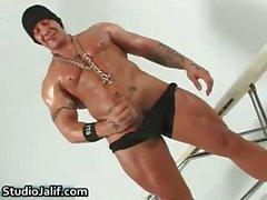 Hunk gaie musclés Rob Diesel secousses