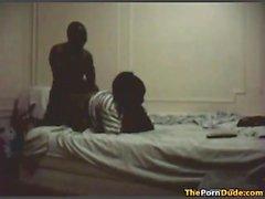 tita Egipto con el amante en el hotel de Cámara oculta