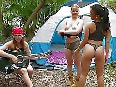 acampamento divertir