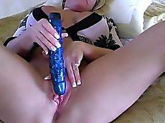 Alexis loves sex toys