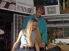 Sabbioso Rebecca Lord Rocco Siffredi in scena del cazzo d'epoca