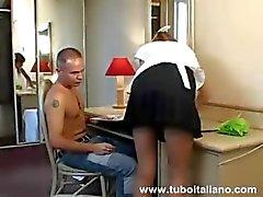 Italiaanse Anal Wife Moglie Inculata
