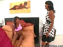 Black Mature Mom And Not Her Teen Daughter Lesbian