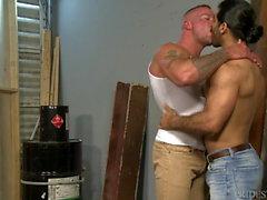 PrideStudios Daddy Sean Duran Analized By Hunk Ali Liam HOT