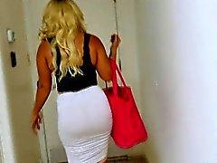 BBW Nina Kayy has big tits and phat ass for anal fucking