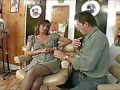 İngiliz sürtük Melanie klasik bir sahne becerdin