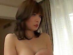Yukari Aoyama Использование непристойных выстрел красивая жена