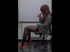 My lovely sexy secretaries body)