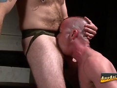 Rimmed amateur fucked raw