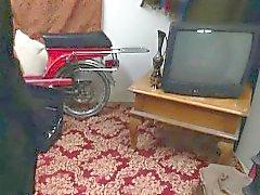 Hijabi árabe follado en el coño apretado prohibido
