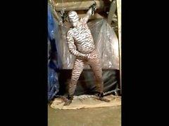 Рогатый ловушку Tiger становится бесплатно и и дрочит