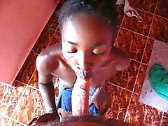 black teen maid suck me in hotel Madagascar