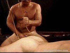 La TCC la servitude et boule qui s'étend session sur ma goujon fond suspendues et musculaire .