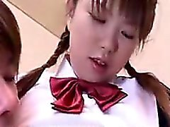 Cute schoolgirl meets with her boyfriend and is fingered fo