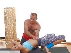 FitnessRooms Ivana sokeria potkaisee huoli sekä pillua joustava kunnon mukaan jonka TRA