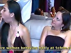 Genuine Footage Girls bei Bachelorette Parteien