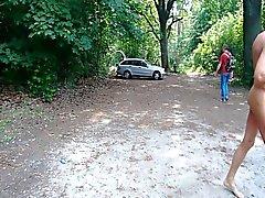 public jerk , draussen wichsen , outdoor