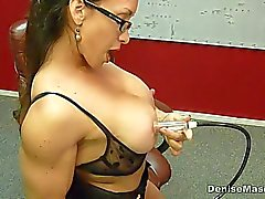 Denise Masino - Momma Nipple Pumping Video - Mujer Bodybuilder