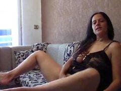Masturbating Orgasm with Dirty Taboo Talk