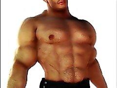 3D di Men muscolosi e Fantasia Ragazzi che !
