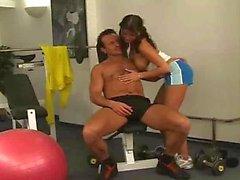 Sex à la salle de fitness