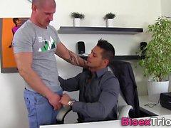Biseksüel saplamalar spitroast