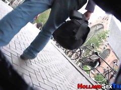 Alankomaiden prostituoitu ratsastaa