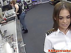 Real airhostess pawns her body for money