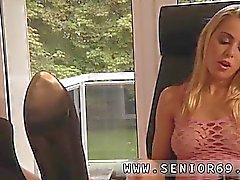 Pegging old man and old bisexual couple full length Paul sti