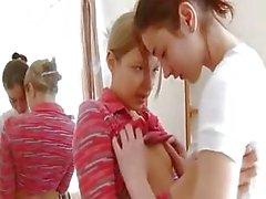 Natashas ensimmäinen lezz kokemus