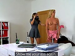 FemaleAgent-Agent liebt sexy hot Blondinen Figur