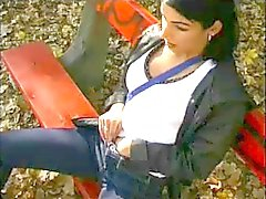 Slut Wife blowjob by Strangers in Park