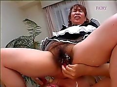 giapponese grannie cameriera hairy ! !