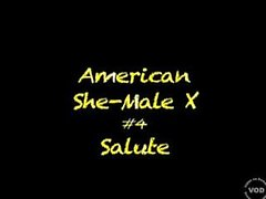 How To Please A Shemale 4 - American She-Male X 4 - Feed My Ass